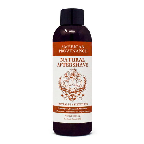American Provenance - Aftershave - Fastballs And Fistcuffs - 3.3 Fl Oz.