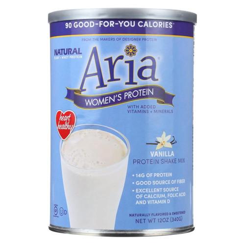 Designer Whey - Aria Women's Protein Vanilla - 12 Oz