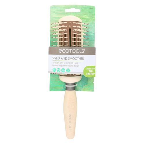 Eco Tool Hair Brush - Styler + Smoother - 3 Count