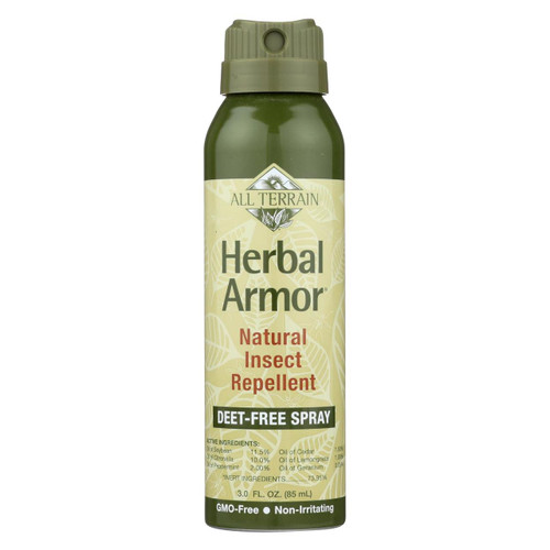 All Terrain - Herbal Armor Natural Insect Repellent - Continuous Spray - 3 Oz