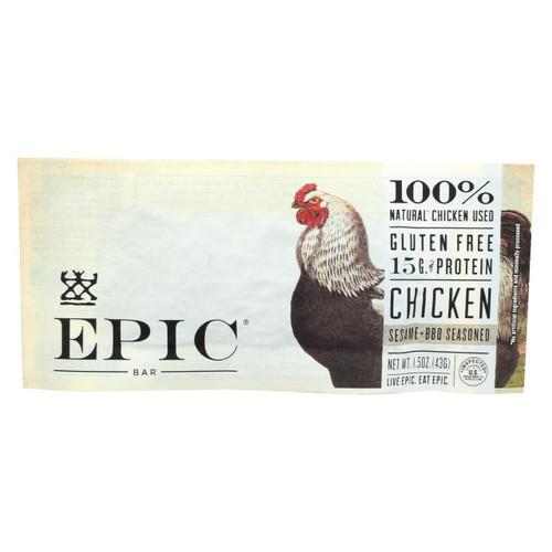 Epic - Bar - Chicken - Sesame - Bbq Seasoned - Case Of 12 - 1.5 Oz