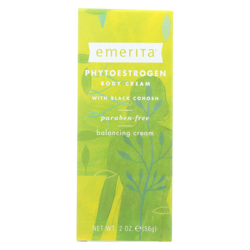 Emerita Phytoestrogen Body Cream - 2 Oz