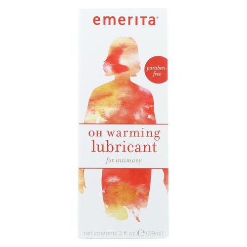 Emerita Oh Warming Lubricant - 2 Oz
