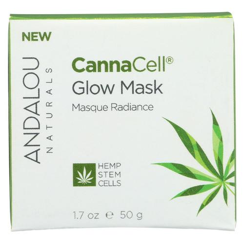 Andalou Naturals - Cannacell Glow Mask - 1.7 Oz.