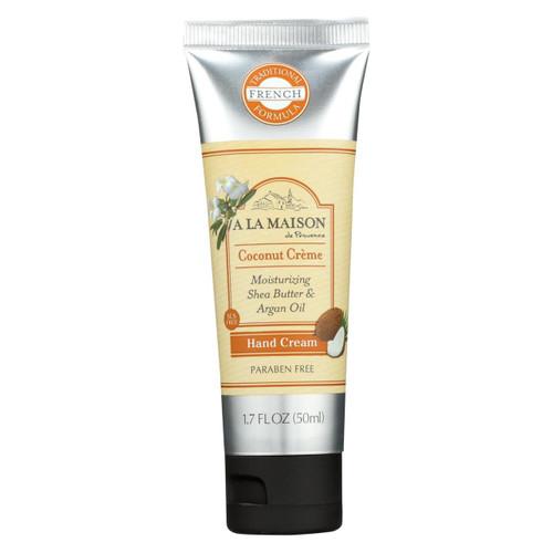 A La Maison - Hand Cream - Coconut Creme - 1.7 Fl Oz.