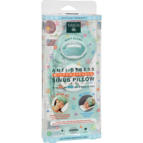 Earth Therapeutics Anti-stress Sinus Pillow Lavender Chamomile - 1 Pillow