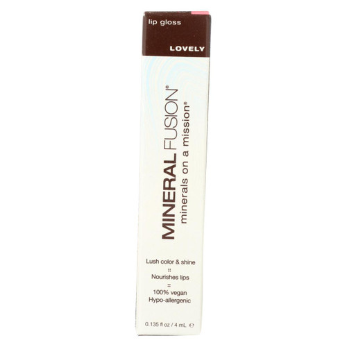 Mineral Fusion - Lip Gloss - Lovely - 0.135 Oz.