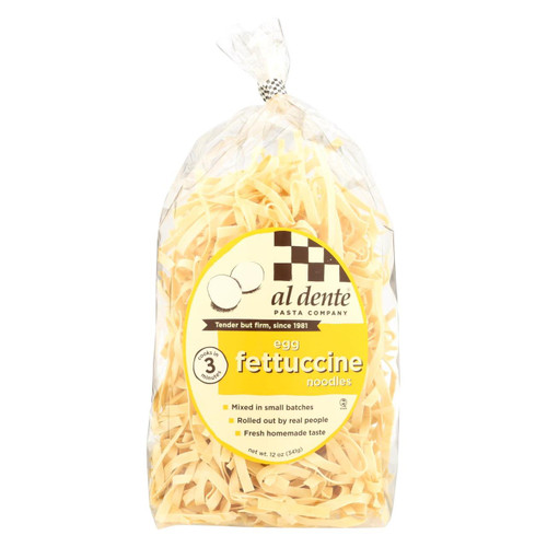 Al Dente - Fettucine - Egg - Case Of 6 - 12 Oz.