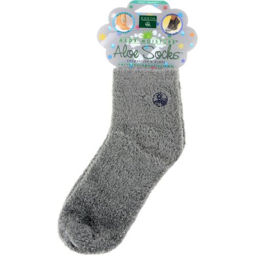 Earth Therapeutics Socks Infused Socks - Grey - Pair