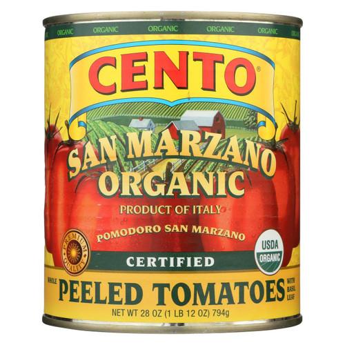 Cento - Whole Peeled Tomatoes - Case Of 6 - 28 Oz.