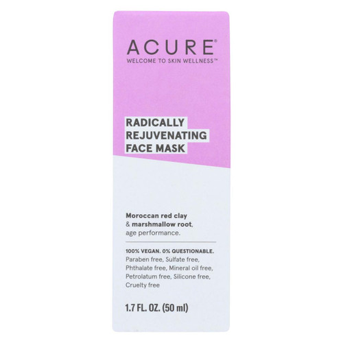 Acure - Mask - Facial - Red Clay - 1.7 Fl Oz