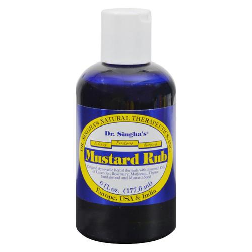Dr. Singha's Mustard Rub - 6 Oz