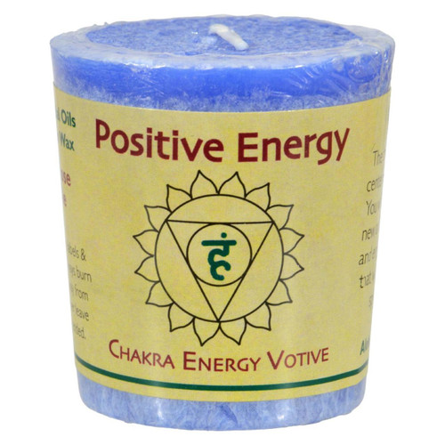 Aloha Bay - Chakra Votive Candle - Positive Energy - Case Of 12 - 2 Oz