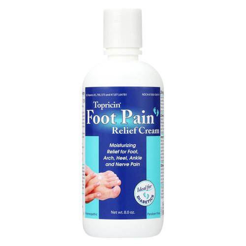 Topricin Foot Therapy Cream - 8 Oz