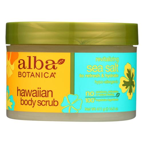 Alba Botanica - Hawaiian Sea Salt Body Scrub - 14.5 Oz