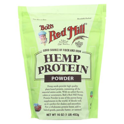 Bob's Red Mill - Hemp Protein Powder - 16 Oz - Case Of 4