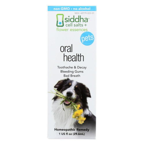 Siddha Flower Essences Oral Health - Pets - 1 Fl Oz
