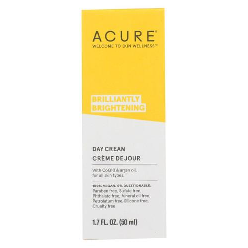 Acure - Day Cream - Gotu Kola Extract And Chlorella - 1.75 Fl Oz.