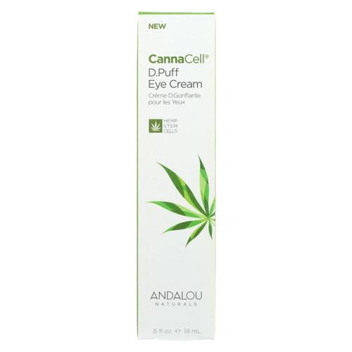 Andalou Naturals - Cannacell D.puff Eye Cream - .6 Fl Oz.