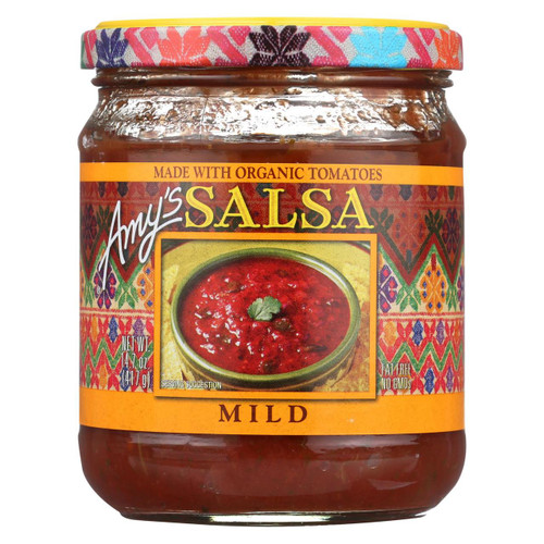 Amy's - Mild Salsa - Made With Organic Ingredients - Case Of 6 - 14.7 Oz
