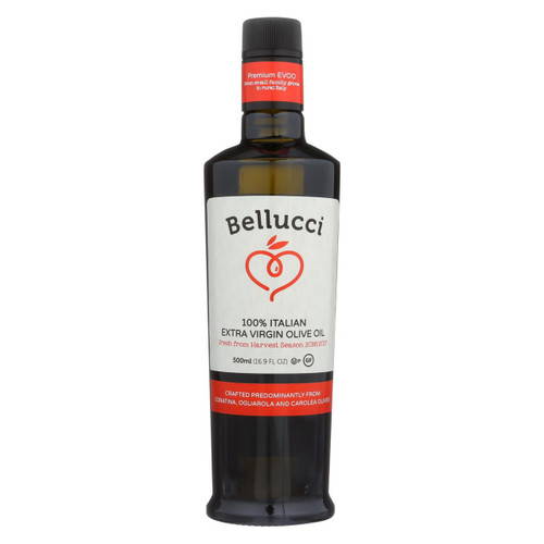 Bellucci Premium Olive Oil - Extra Virgin - Case Of 6 - 500 Ml - 1521483