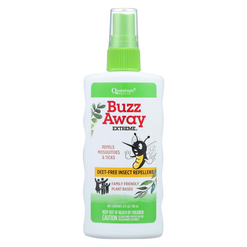 Quantum Buzz Away Extreme Insect Repellent - 4 Fl Oz
