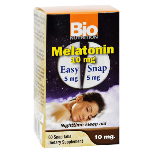 Bio Nutrition - Inc Melatonin - 10 Mg - 60 Tablets