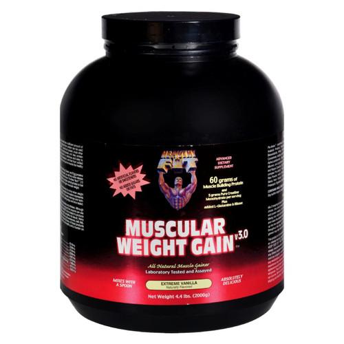 Healthy 'n Fit Muscular Weight Gain 2 - Vanilla - 4.4 Lb.