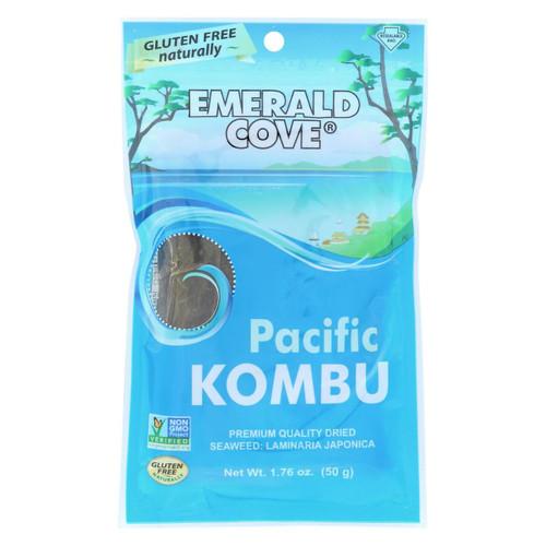Emerald Cove Sea Vegetables - Pacific Kombu - Silver Grade - 1.76 Oz - Case Of 6
