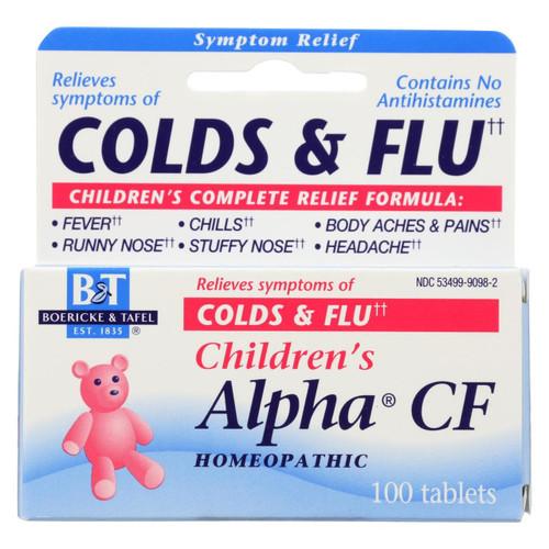Boericke And Tafel - Children's Alpha Cf - 100 Tablets