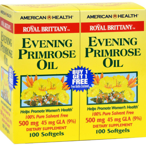 American Health - Royal Brittany Evening Primrose Oil 100+100 Softgels