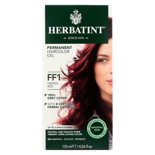 Herbatint Haircolor Kit Flash Fashion Henna Red Ff1 - 1 Kit