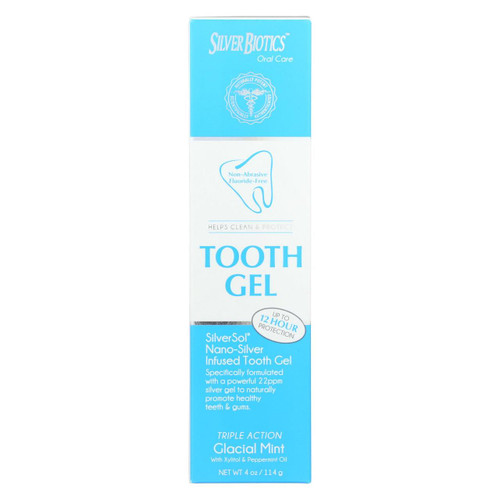 American Biotech Labs - Silversol Tooth Gel - Xylitol - 4 Oz