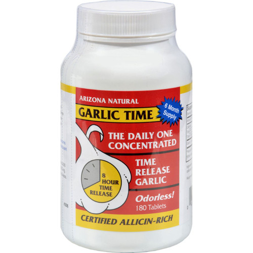 Arizona Natural Resource Garlic Time - 180 Tablets