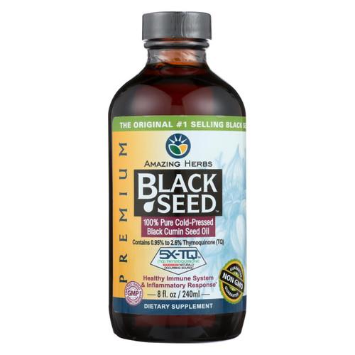 Amazing Herbs - Black Seed Oil - 8 Fl Oz