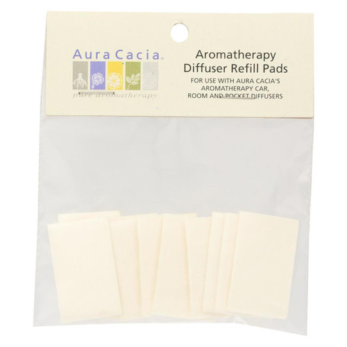 Aura Cacia - Diffuser Car/room Refill - Case Of 6 - 10 Pack