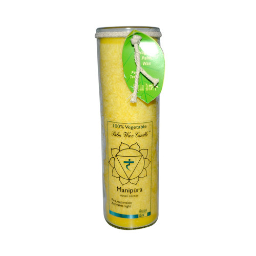 Aloha Bay - Unscented Chakra Jar Protection Manipura Yellow - 1 Candle