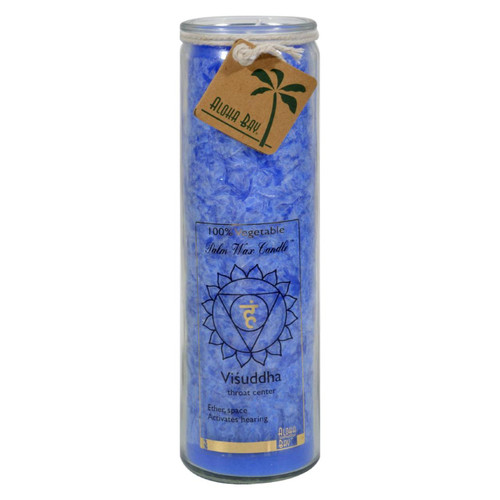Aloha Bay - Chakra Jar Blue Candle - 17 Oz