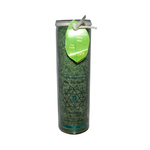 Aloha Bay - Unscented Chakra Jar Healing Anahata Green - 1 Candle