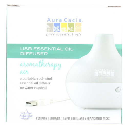 Aura Cacia Diffusers - Ultrasonic Essential Oil - 1 Count