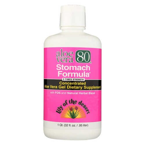 Lily Of The Desert Aloe Vera 80 Stomach Formula - 32 Fl Oz