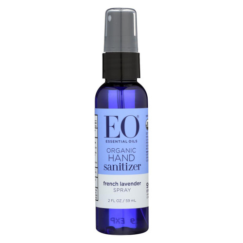 Eo Products - Hand Sanitizer Spray - Lavender - 2 Fl Oz - Case Of 6