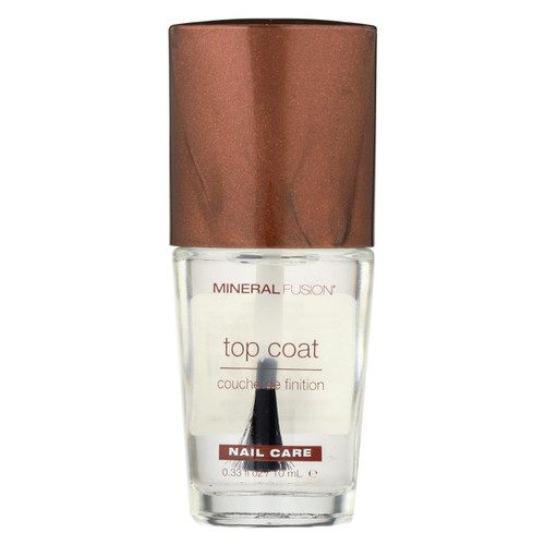 Mineral Fusion - Nail Polish - Top Coat - 0.33 Oz.