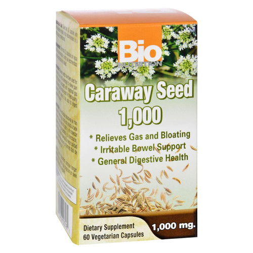 Bio Nutrition - Caraway Seed 1 000 Mg - 1000 Mg - 60 Vegetarian Capsules