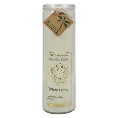 Aloha Bay - Chakra Jar Candle - White Lotus - 11 Oz
