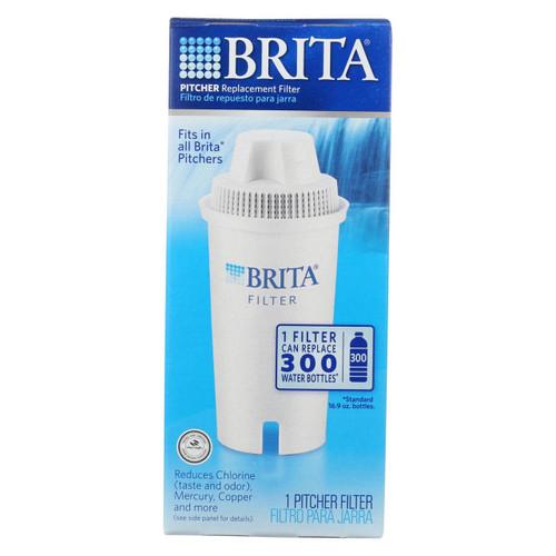 Brita - Replacement Pitcher And Dispenser Filter - 1 Filter
