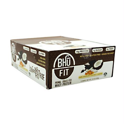 Bhu Foods BHU FIT BHU Fit Primal Protein Dark Chocolate Coconut Almond - Gluten Free