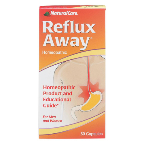 Natural Care Reflux-away - 60 Capsules