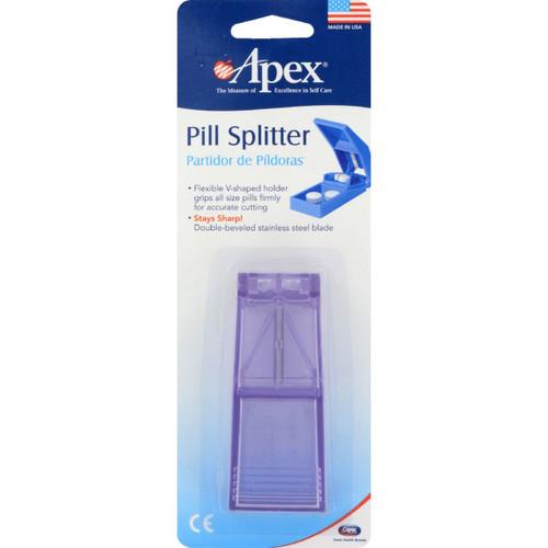 Pill Crusher Pill Splittler - Apex - Large - 1 Count