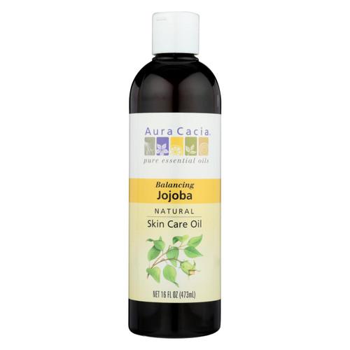 Aura Cacia - Skin Care Oil - Jojoba - 16 Oz.
